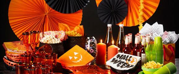 mad til Halloween fest
