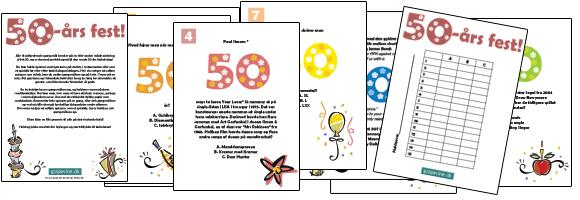 50 års fest ideer ideer til 50 års fødselsdagsfest 50 års fest ideer