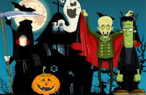 halloweenskattejagt
